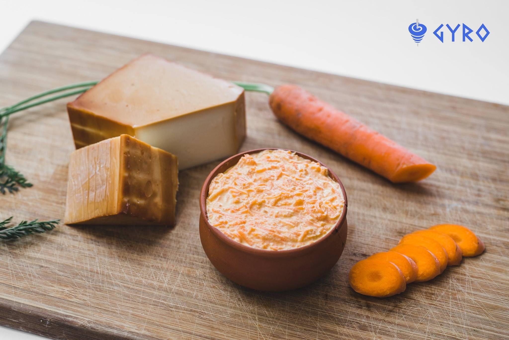 Répasaláta füstőlt sajttal